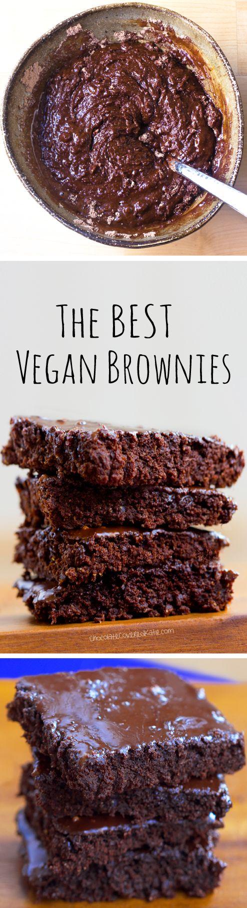 The BEST Vegan Brownies Recipe - NO Tofu, NO Beans, and...