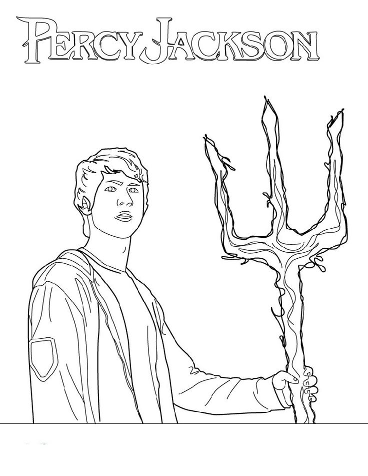 Percy Jackson Coloring Pages for Boys in 2020 Coloring