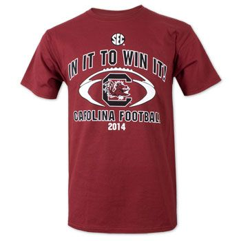 South Carolina Gamecocks 2014 Football Schedule T-Shirt #gamecocks