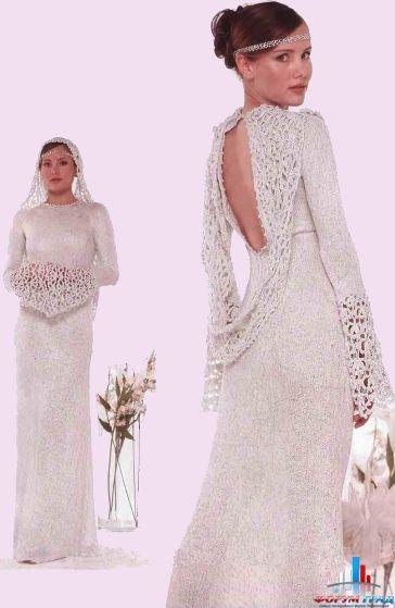 Свадебные платья. - Вязать научиться никогда не поздно – учимся и вяжем вещи для взрослых - Форум-Град
