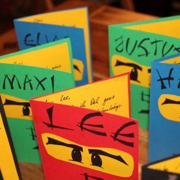 Die Besten 25 Ninjago Einladungskarten Ideen Auf Pinterest Lego