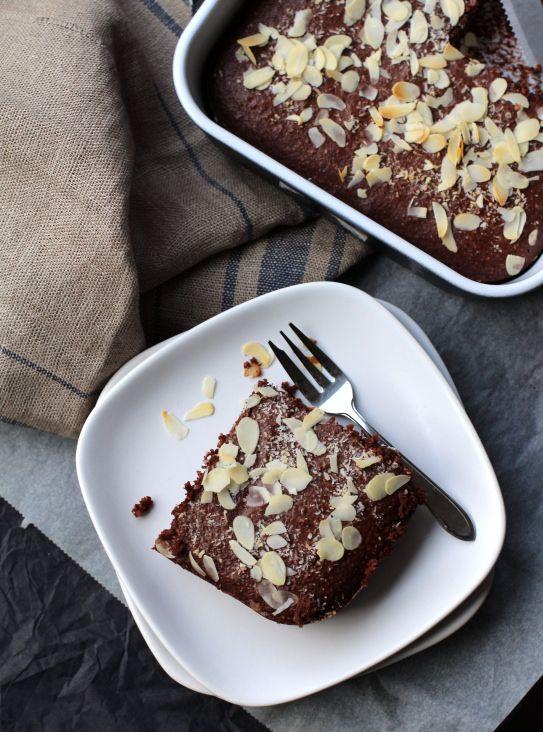 Recept: Amandel Kokos Chocoladecake zonder suiker