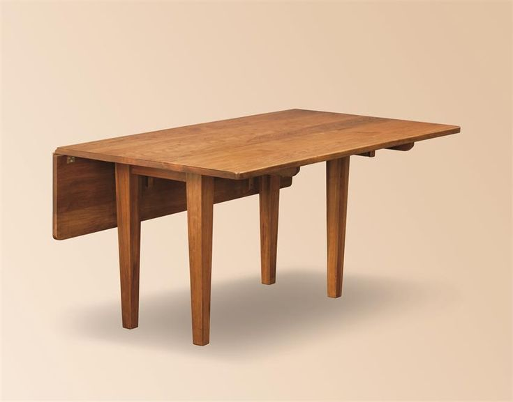 Amish Studio Shaker Drop Leaf Dining Table $948.00 S/H ...