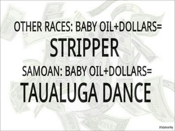 Bahahaha Samoan though!!! :)