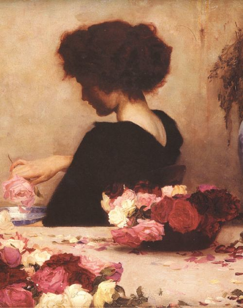 Herbert James Draper - Pot Pourri (Detail), 1897: