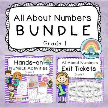 Our All About Number BUNDLE includes 16 hands-on number activities plus complimentary exit tickets to match each task. The Hands-on Number Pack is designed to provide you and your students with hands-on, differentiated activities to build place value and number