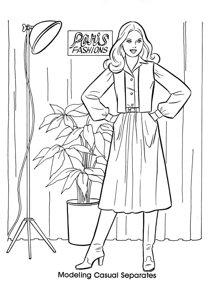 78 best Coloring Pages - Vintage images on Pinterest ...