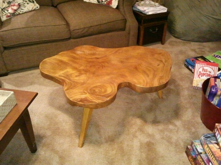 Mid century monkeypod wood table purchased in 1950s in for Mid century modern furniture hawaii