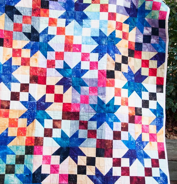 Under The Stars Quilt Kit None Sewing Quilts
