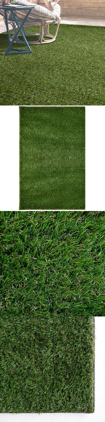 Good Other Rugs And Carpets 8409: Indoor Outdoor Artificial Fake Grass Area Rug   U003e BUY