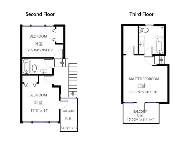Urban Townhouse Floor Plans: 1000+ Images About FLOOR PLANS-URBAN ROWS On Pinterest