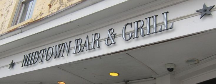 Midtown Bar and Grill  559 King Street, Charleston, SC  www.eatkingstreet.com