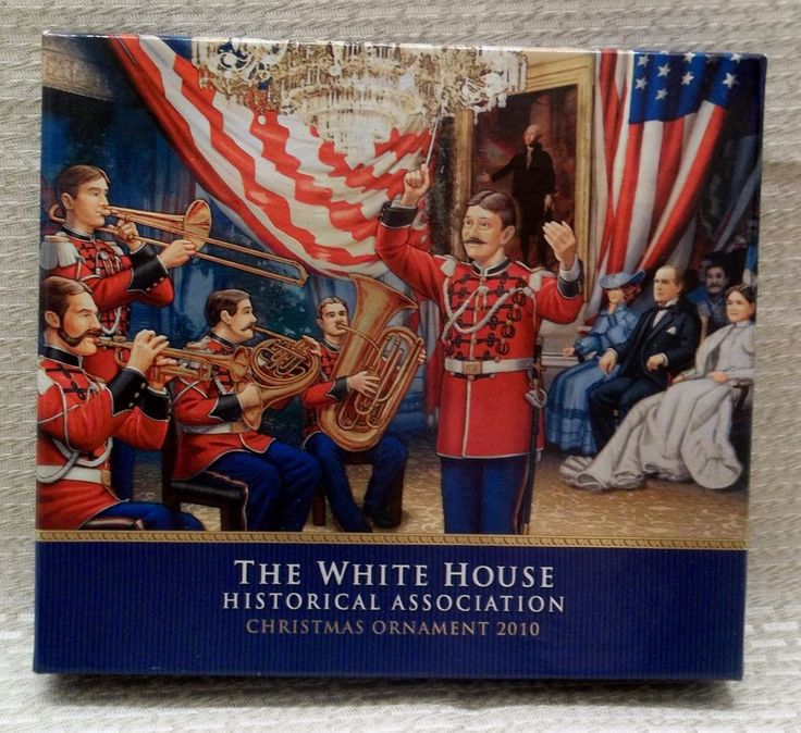 The White House Historical Association 2010 Christmas Ornament William McKinley