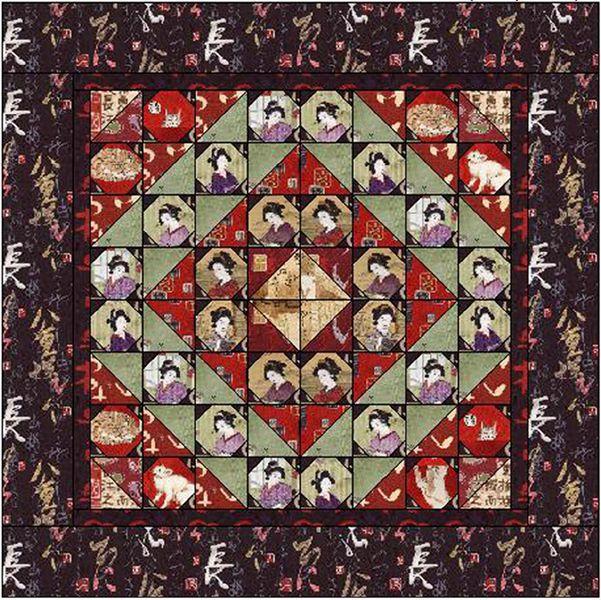 Oriental Traditions Free Pattern: Robert Kaufman Fabric Company