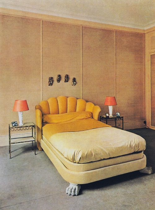 Jean-Charles Moreaux, 1939. I love this for a fancy-ass head board.