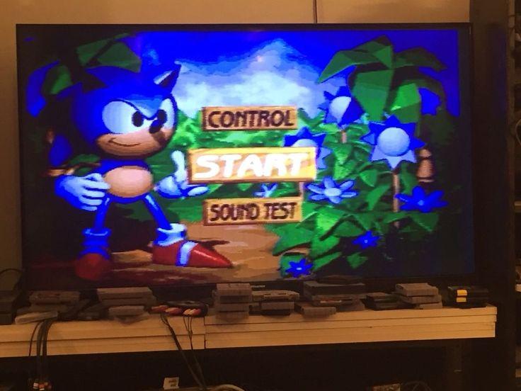 SONIC 3D BLAST Sega Genesis Video Game Free Shipping  | eBay