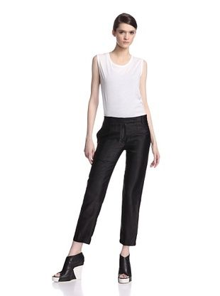 80% OFF Ann Demeulemeester Women's Aspect Trousers (Black)