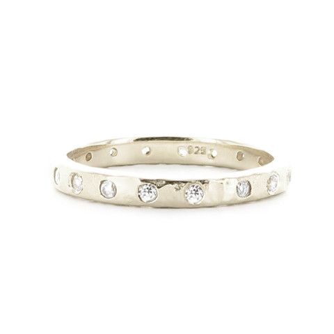 LOVE STACKING RING & PENDANT SILVER – So Pretty Cara Cotter