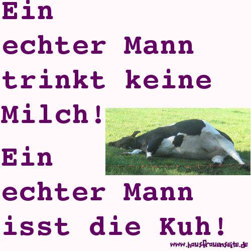 Ein echter Mann isst die Kuh!