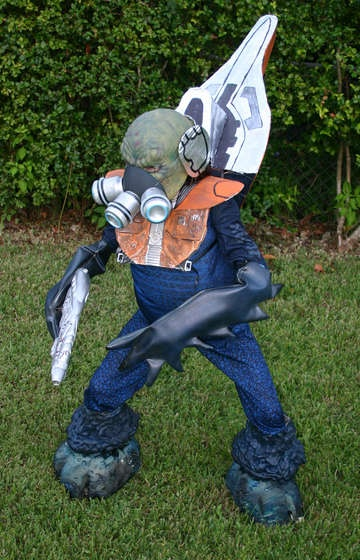 How to make a Halo Grunt Costume