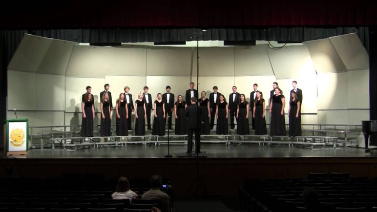 Langley Madrigals - A Jubilant Song (Rene Clausen) - 2012 Choral Assessment