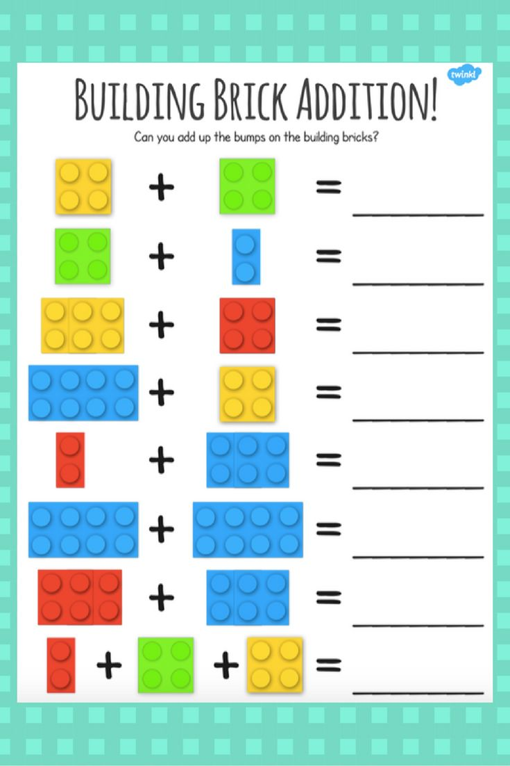 Fun LEGO addition activity perfect for engaging little learners!