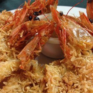 Camarones con coco y salsa de mango @ http://allrecipes.com.mx