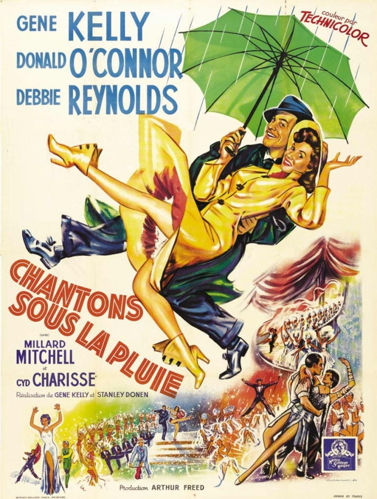 Singing in the rain / Chantons sous la pluie