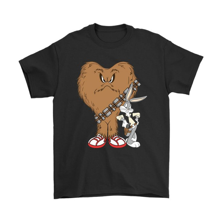 Gossamer And Bugs Bunny As Chewbacca And Han Solo Star Wars Shirts