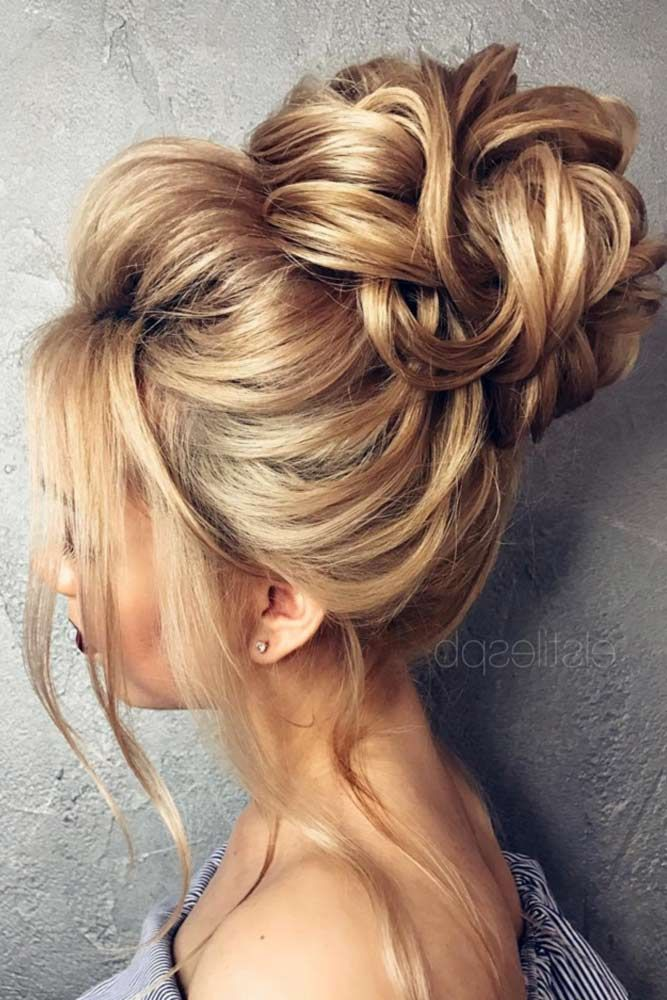 So-Pretty Chignon Bun Hairstyles ★ See more: http://lovehairstyles.com/so-pretty-chignon-bun-hairstyles/