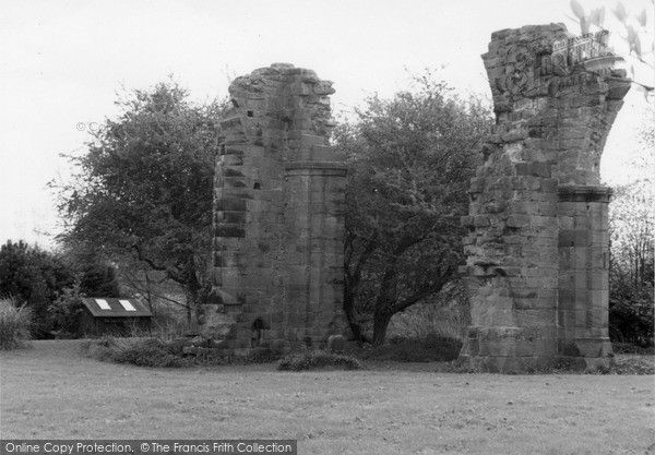 Ormskirk, The Ruins Of Burscough Priory 2005, from Francis Frith
