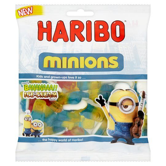 HARIBO MINIONS CANDY SWEETS