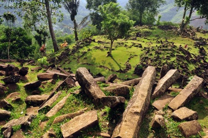 Gunung Padang megalithic sites - cianjur, west java, indonesia