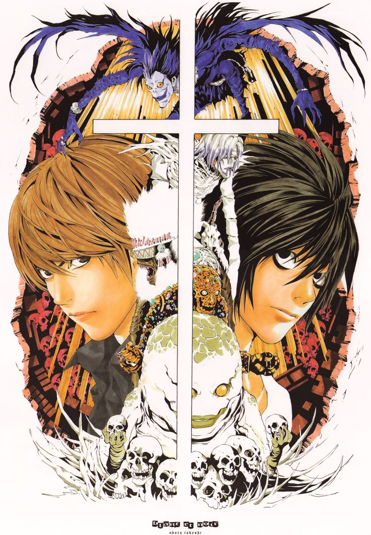 65 best images about death note on pinterest search - Manga death note ...