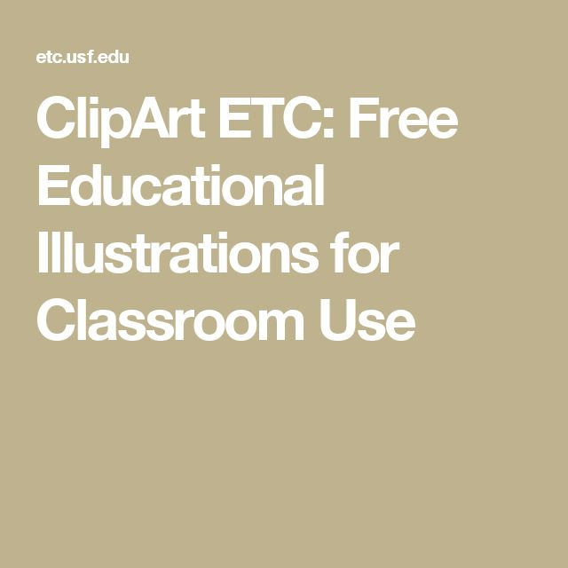 ClipArt ETC: Free Educational Illustrations for Classroom Use