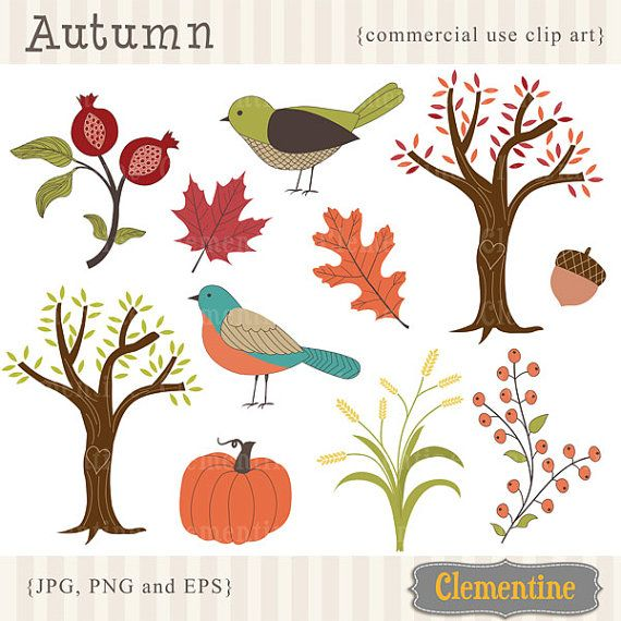 Buy+3+GET+2+FREE++Fall+clip+art+images++fall+by+ClementineDigitals,+$5.00