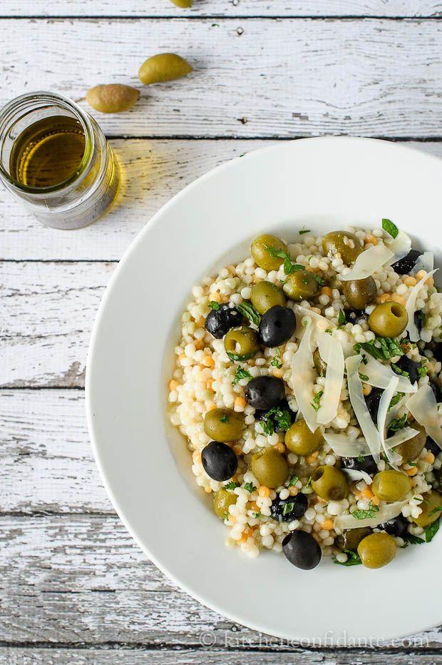 Olive couscous  salad #couscous #salad #boursin #inspiration