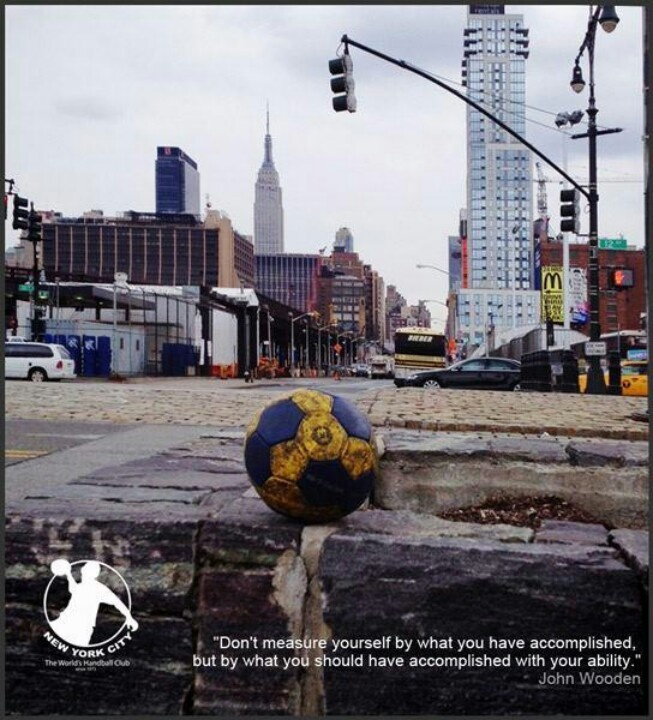 Handball street city