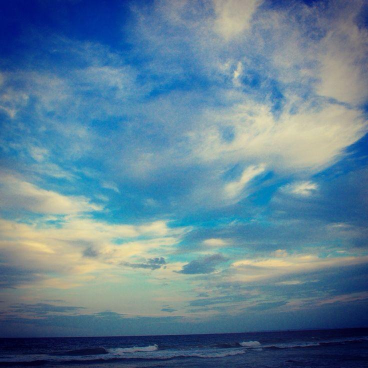 Clouds on Bribie Island