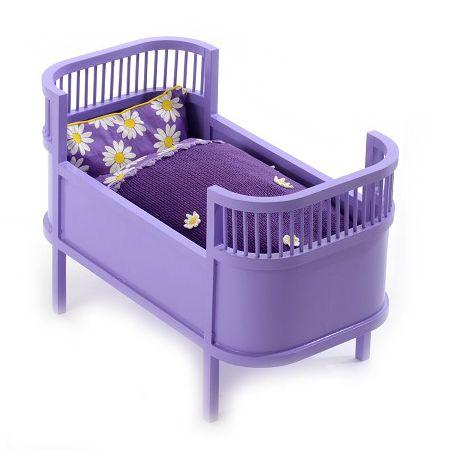 Docksäng Mini Juno Lavendel