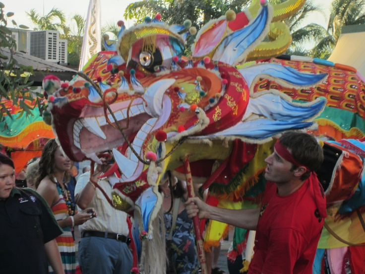 Sammy the Dragon wakes from his year long slumber to participate in the Shinju Matsuri Festival also known as the Festival of the Pearl.