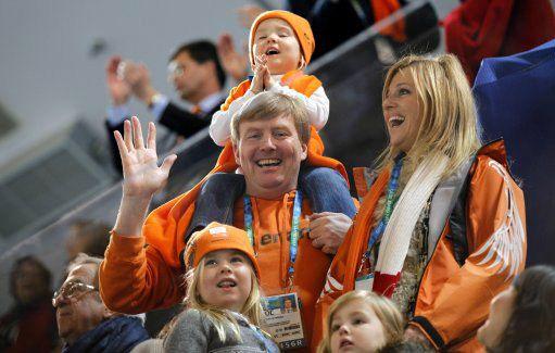 Princess Maxima, Prince Willem-Alexander--Olympics