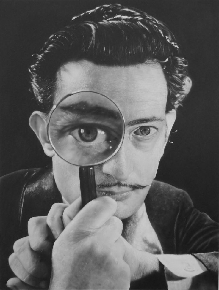 A new work from Todd Salvador Dali. It looks like a photo! see more at www.toddsimpsonart.com