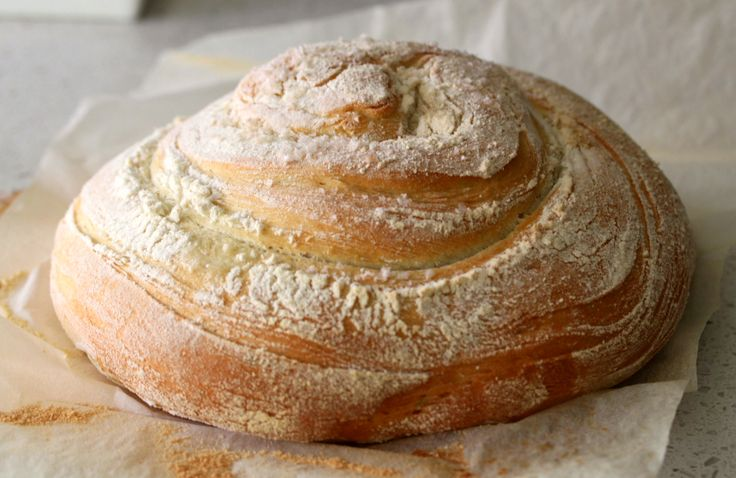 Rosemary, semolina & pink salt loaf by Tenina (Thermomix)