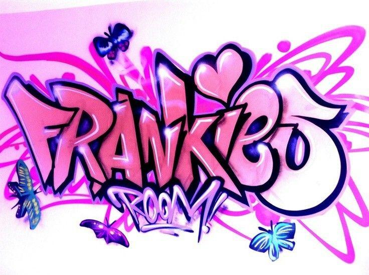 Die besten 25 namen wandkunst ideen auf pinterest - Wandsticker graffiti ...