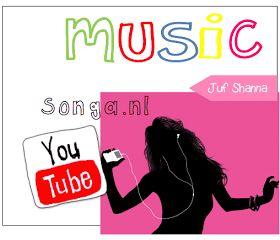 Juf Shanna: Een Youtube playlist maken met Songa