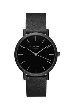 **The GRAMERCY Black Watch by Rosefield