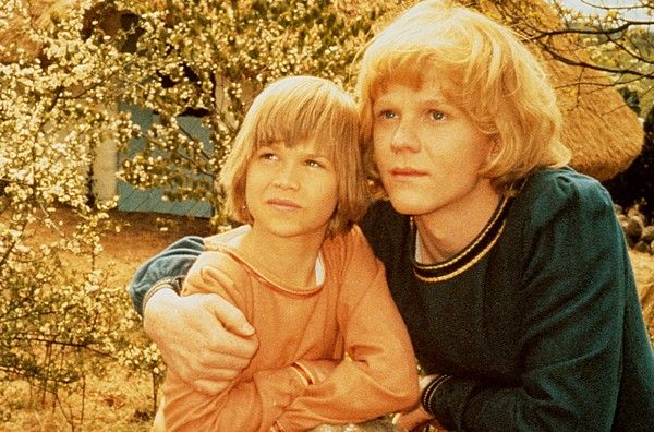 The Brothers Lionheart, picture from the film based on the book with the same name, written by Astrid Lindgren