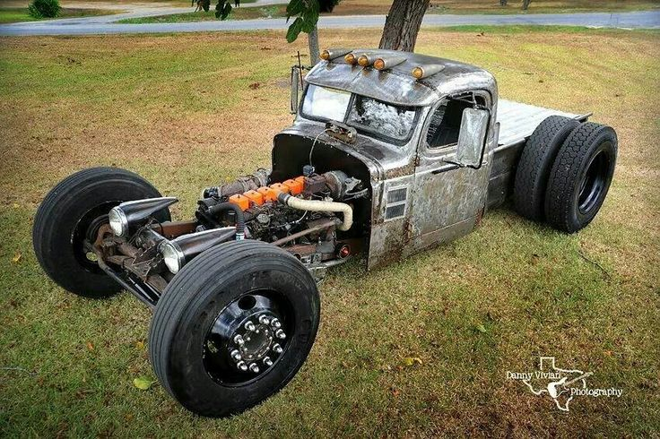 how to build a rat rod truck