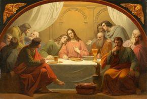 """theraccolta: """"The Last Supper by Melchior Paul von Deschwanden """""""